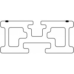 Unterkonstruktionsprofil (hoch)