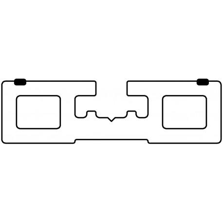 Unterkonstruktionsprofil (flach)
